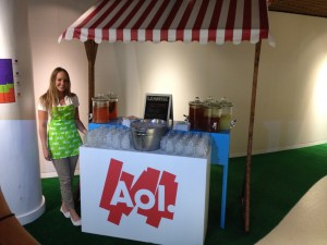 lemonaid Stand (AOL Event)