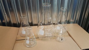 6 sets of 5 Assorted Beakers